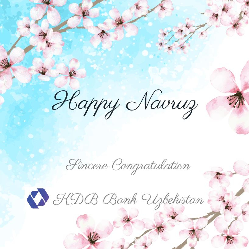 Greeting with Navruz Holiday